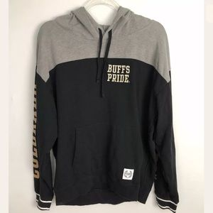 PINK VS 5th & Ocean Collab CU Boulder Buffs Hoodie